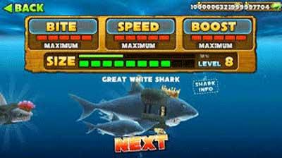 скачать игру hanger shark с бесконечными деньгами
